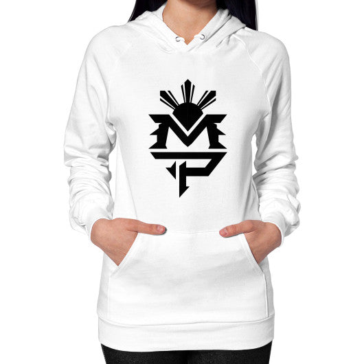 Hoodie (on woman) White Pacquiao Gear