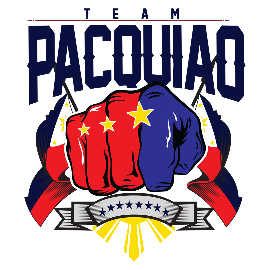 Team Pacquiao Flag Decal