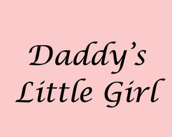 Daddy's little girl Singlet