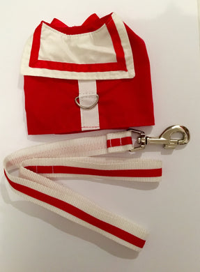Red Sailor Harness & Lead set