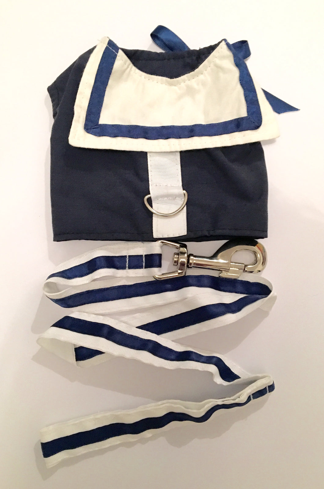 Navy Sailor Harness & Lead set