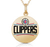 Los Angeles Clippers Round Shaped Pendant