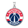 Washington Wizzards Color Logo Outline Pendant