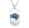 Orlando Magic Dog Tag Shaped Pendant