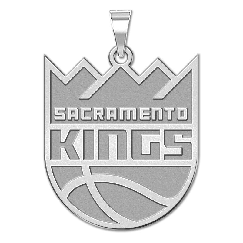 Sacramento Kings Logo Outline Pendant