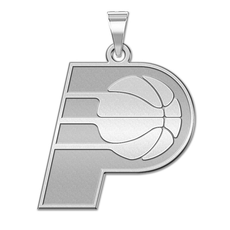 Indinana Pacers Logo Outline Pendant
