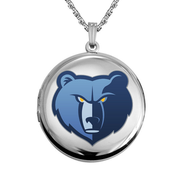 Memphis Grizzlies Round Shaped Locket