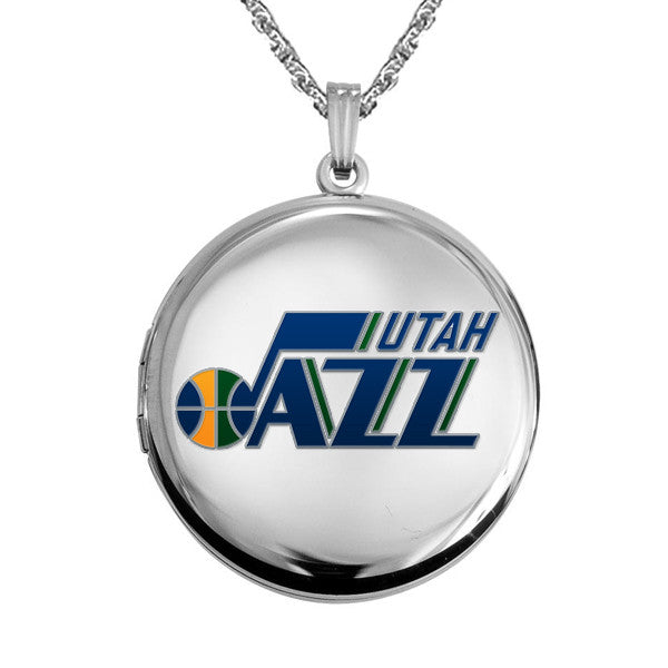 Utah Jazz Round Shaped Locket