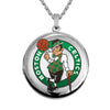 Boston Celtics Round Shaped Locket