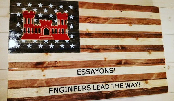 Combat Engineer Flag