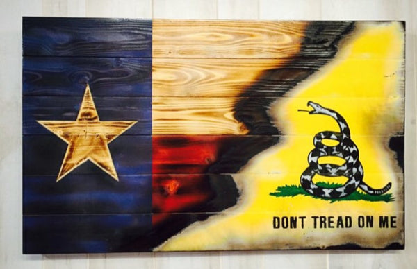 Charred Texas with Torn In Gadsden