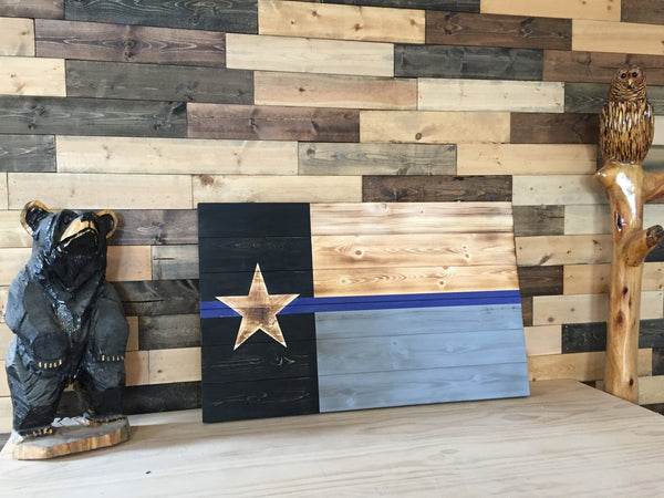 Tactical Texas Thin Blue Line