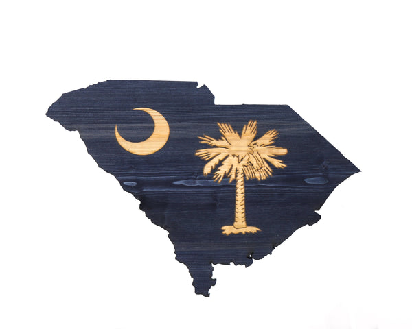 South Carolina state cutout