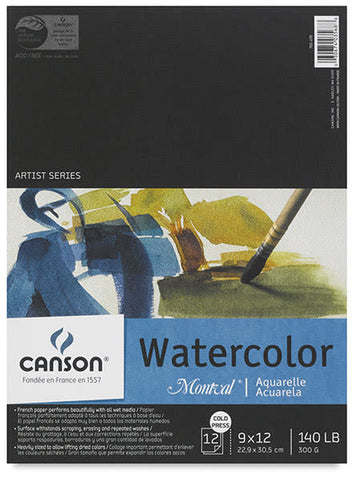 Canson Artist Series Watercolor Pad