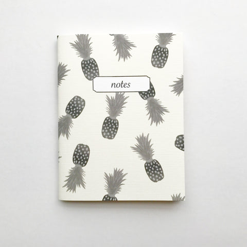 Pineapple Mini Notebook