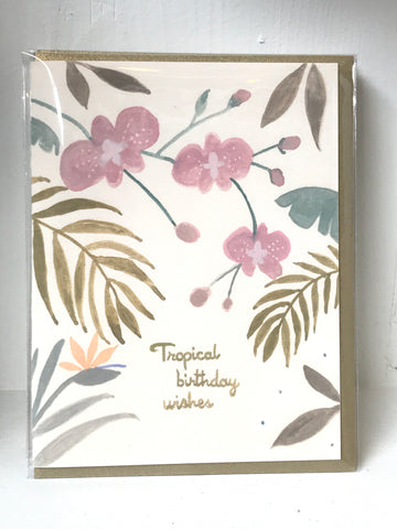 Tropical Birthday Wishes 2