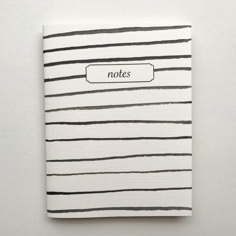Nautical Stripes Mini Notebook