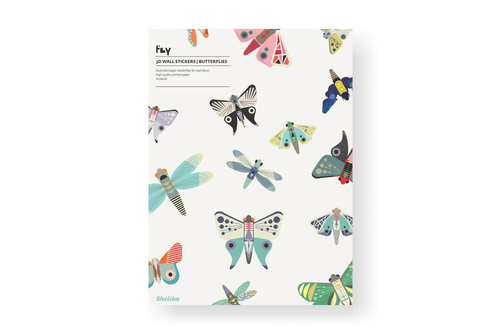 3D Wall Stickers - Butterflies