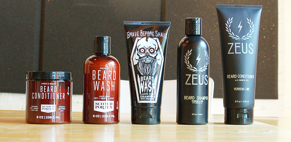 5 Key Benefits to Using a Beard Wash