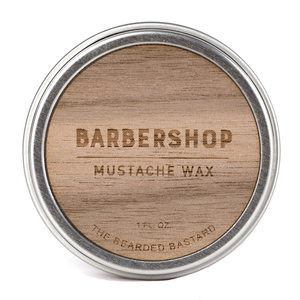 Bearded Bastard Barbershop Mustache Wax