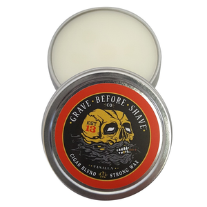 Grave Before Shave Fisticuffs Cigar Blend Mustache Wax