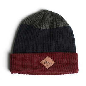 Imperial Motion Divide Beanie Burgundy