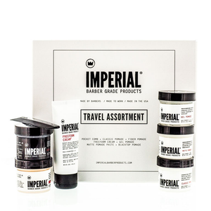 Imperial Barber Pomade Travel Assortment