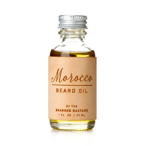 Morocco Beard Oil Bearded Bastard