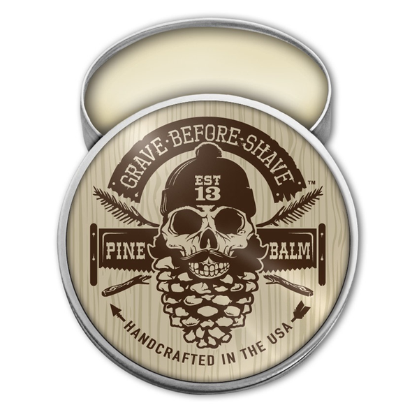 Grave Before Shave Pine Beard Balm