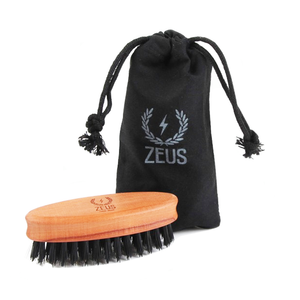 Zeus Pocket Beard Brush
