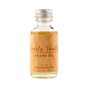 Bearded Bastard Simply Vanilla Beard Oil