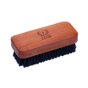 Zeus Pear Wood Beard Brush