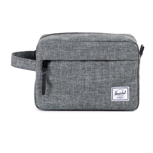Herschel Supply Chapter Travel Kit - Raven Crosshatch