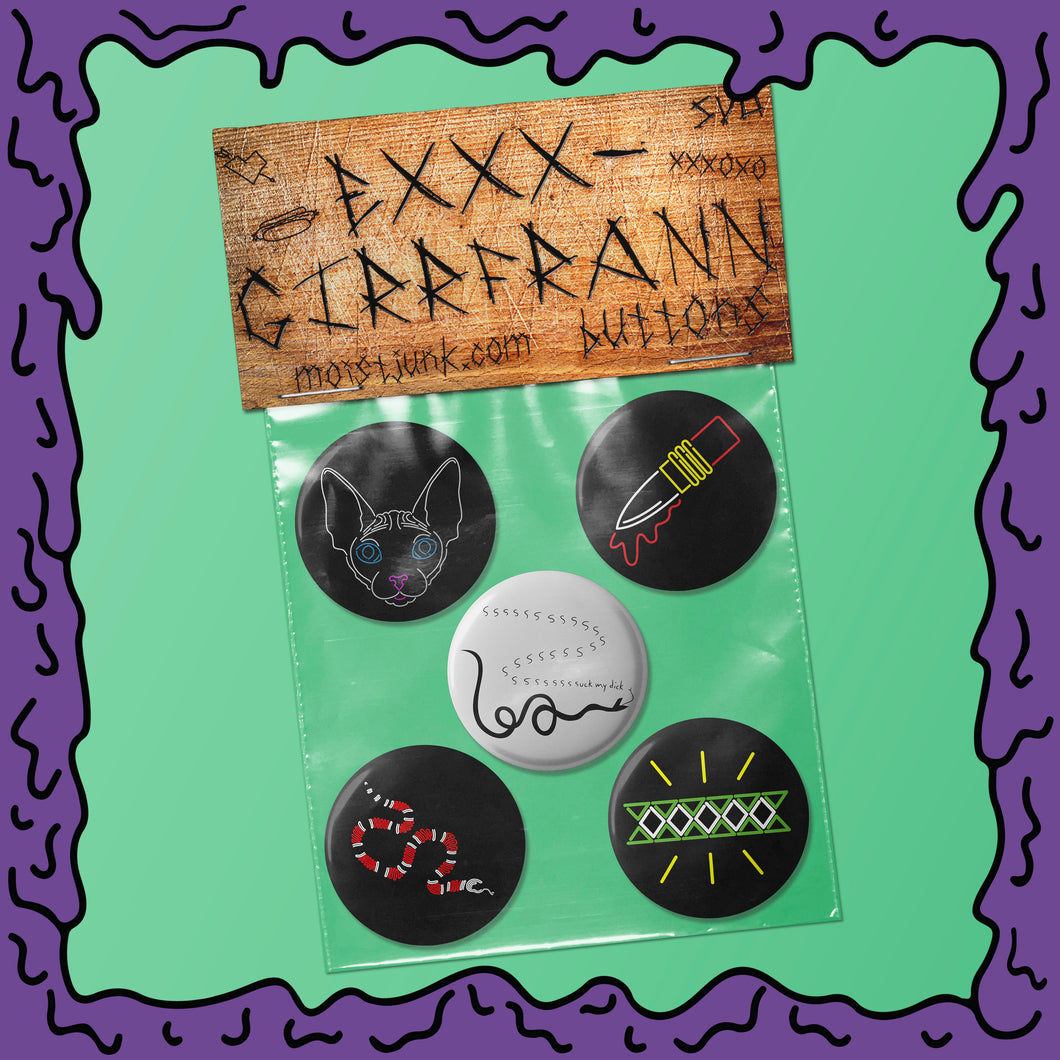 EXXX-GIRRFRANN - Button Pack - 03