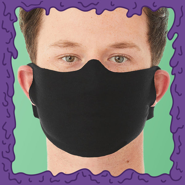 Blank Face Mask - Lightweight