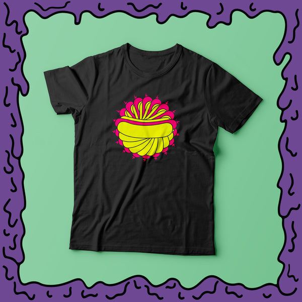 psychedelic hot dog tee shirt moist clothing and junk