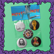 Load image into Gallery viewer, HOT! HOT! HOT! - Button Pack - 03