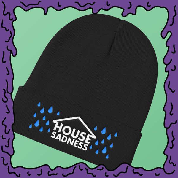 House Sadness - Knit Beanie