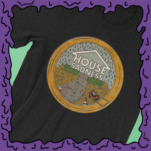 House Sadness - Circle Frame - Shirt