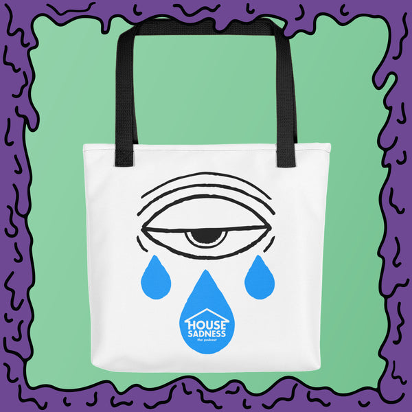 House Sadness - Cryball - Tote bag
