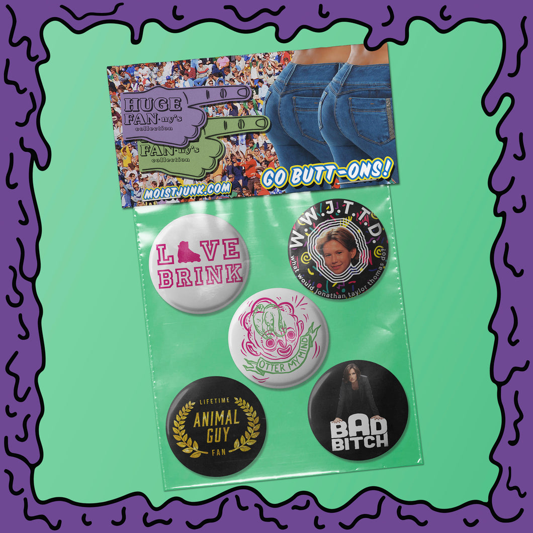 Huge FANny's - Button Pack - 01