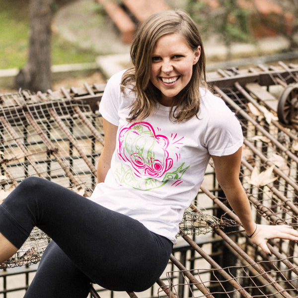 all smiles cute pose otter my mind white shirt model photo moist clothing and junk
