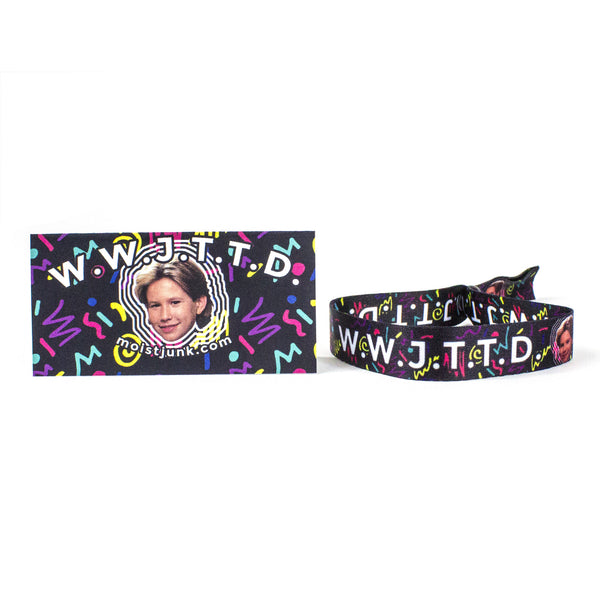 WWJTTD (What Would Jonathan Taylor Thomas Do) 90s Bracelet