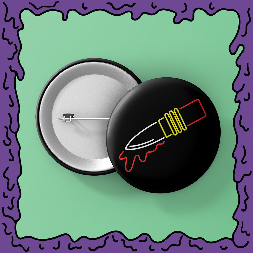 NEON - Lipstick Knife - Button