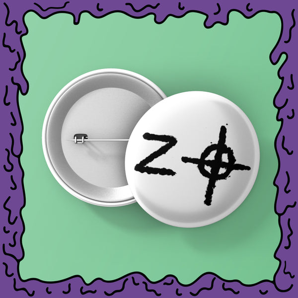 Zodiac Killer - Signature 02 - Button