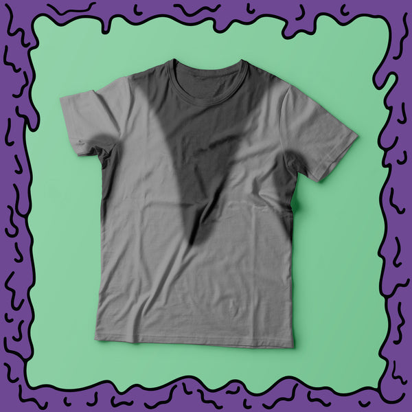 pre stained sweat stains athletic heather grey gray shirt moist clothing and junk product photo