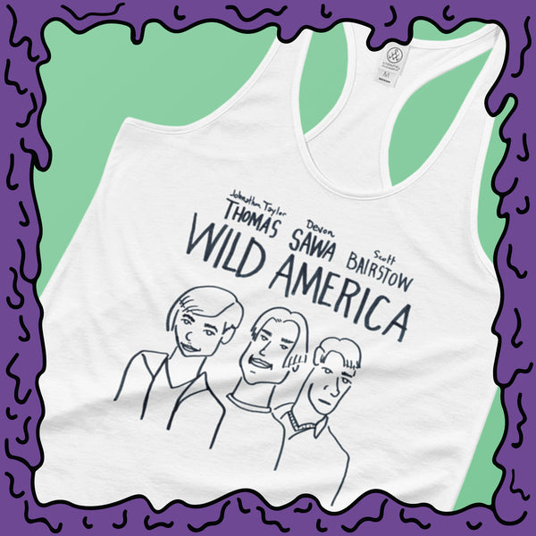 Wild America Movie Poster Fine Art -  Shirttail Tank