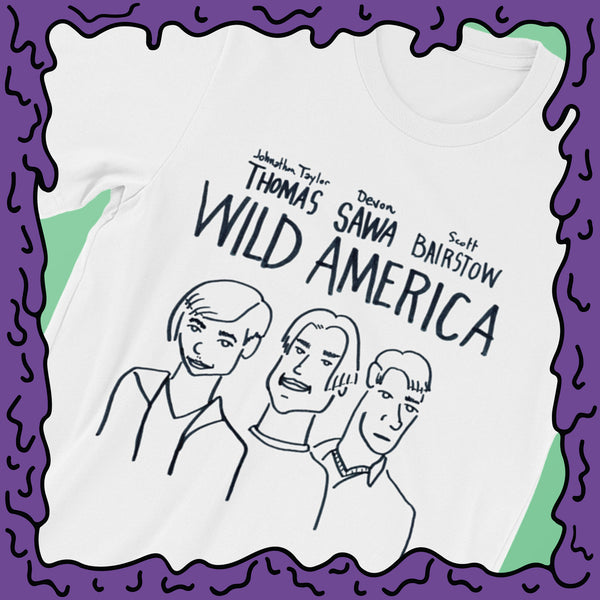 Wild America Movie Poster Fine Art - Shirt