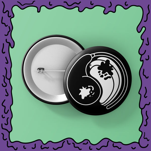 Yin Yang Hot & Corn Dog - Button