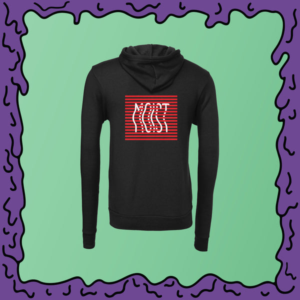 MOIST Stripe Box - Unisex Zip Hoodie
